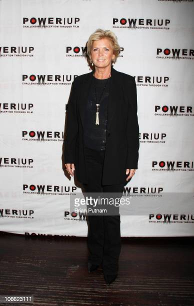 Actress Meredith Baxter arrives to POWER UP 10th Annual Power Premiere Awards at Voyeur on November 7 2010 in West Hollywood California