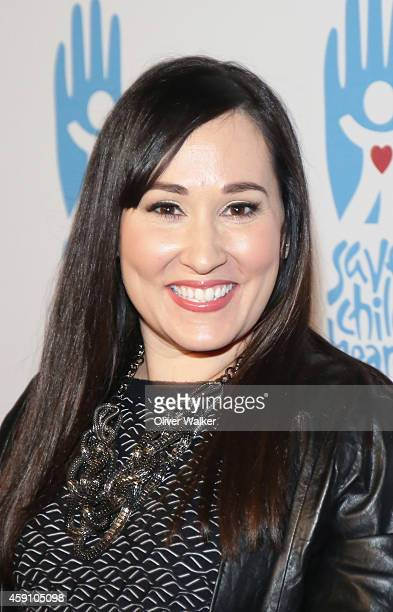 Actress Meredith Eaton arrives at the Save A Child's Heart Celebration Honorary Ceremony at Sony Studios on November 16 2014 in Los Angeles California
