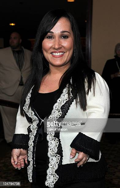 Actress Meredith Eaton arrives ate National Multiple Sclerosis Society's 37th Annual Dinner Of Champion at the Hyatt Regency Century Plaza on...