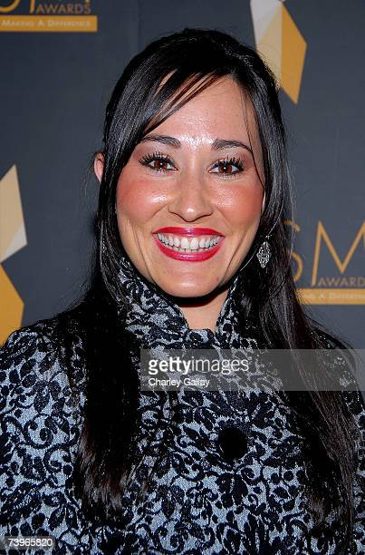 Actress Meredith Eaton arrives to the 11th annual PRISM Awards at the Beverly Hills Hotel April 24 2007 in Beverly Hills California