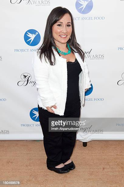 Actress Meredith Eaton attends Project Angel Food's 17th Annual Angel Awards at Project Angel Food on August 18 2012 in Los Angeles California