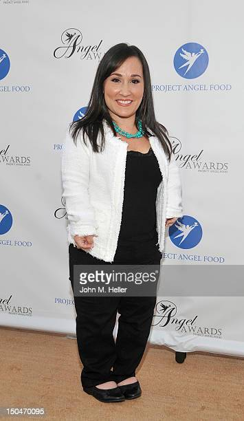 Actress Meredith Eaton attends the 17th Annual Angel Awards at Project Angel Food on August 18 2012 in Los Angeles California