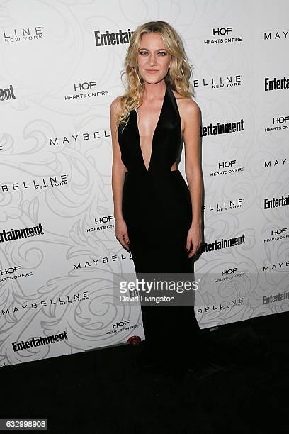 Actress Meredith Hagner arrives at the Entertainment Weekly celebration honoring nominees for The Screen Actors Guild Awards at the Chateau Marmont...