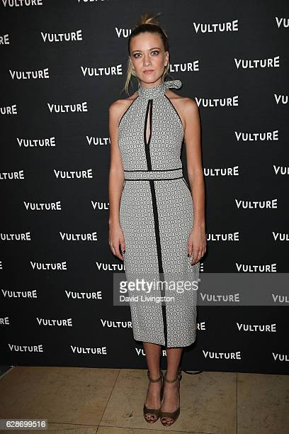 Actress Meredith Hagner arrives at the Vulture Awards Season Party at the Sunset Tower Hotel on December 8 2016 in West Hollywood California