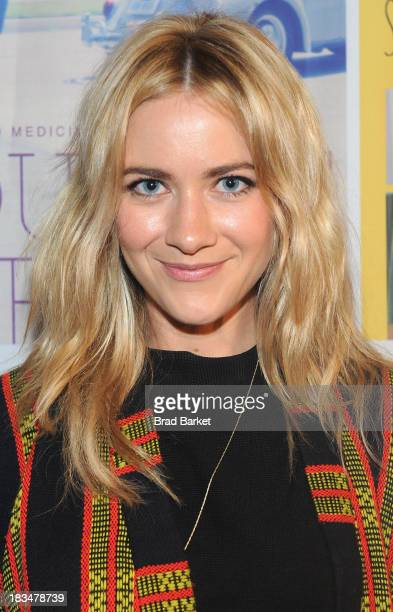 Actress Meredith Hagner attends the 18th Annual Genart Film Festival Closing Night She Loves Me Not Swim Little Fish Swim Young Zero Hour The Motel...