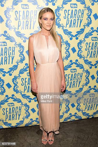 Actress Meredith Hagner attends the Search Party Premiere Party at Metrograph on November 16 2016 in New York City