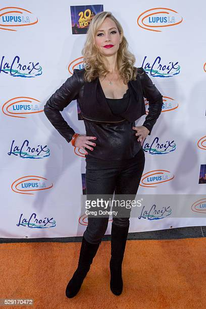 Actress Meredith Monroe arrives at the Orange Ball A Night Of Superheroes at Fox Studios on May 7 2016 in Los Angeles California