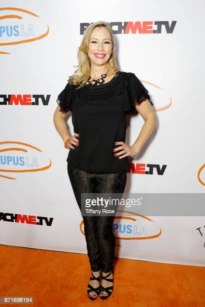 Actress Meredith Monroe attends Lupus LA's Orange Ball Rocket to a Cure at the California Science Center on April 22 2017 in Los Angeles California