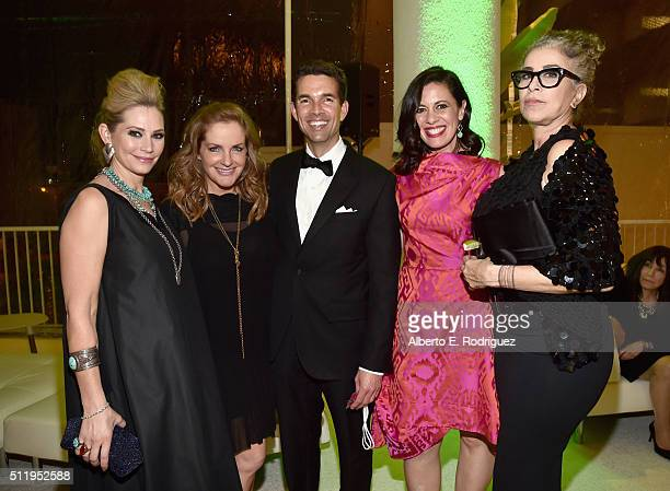 Actress Meredith Monroe Executive Producer/JumpLine CEO JL Pomeroy actresses Jacqueline Mazarella and Roma Maffia and guest attend the 18th Costume...