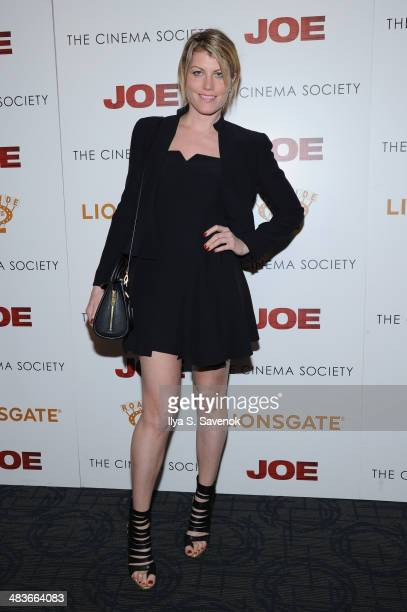 Actress Meredith Ostrom attends the 'Joe' screening hosted by Lionsgate and Roadside Attractions with The Cinema Society at Landmark Sunshine Cinema...