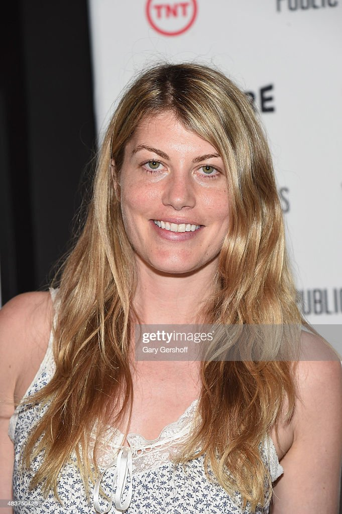 Actress Meredith Ostrom attends the 'Public Morals' New York Screening at Tribeca Grand Screening Room on August 12, 2015 in New York City.