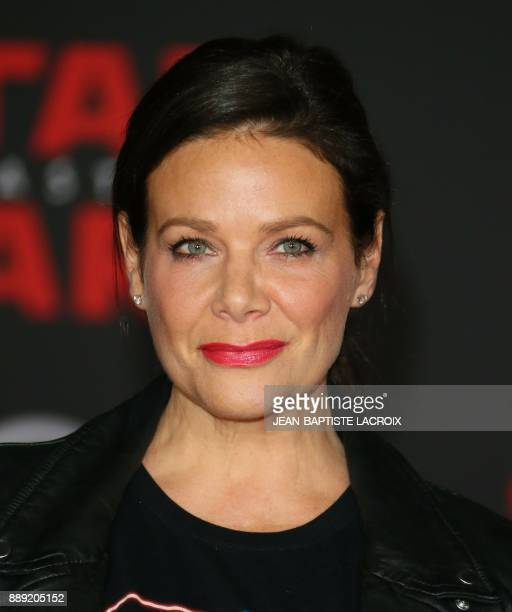 Actress Meredith Salenger arrives for the premiere of Disney Pictures and Lucasfilm's 'Star Wars The Last Jedi' at The Shrine Auditorium in Los...