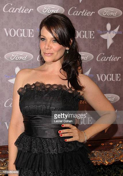 Actress Meredith Salenger arrives to The Art of Elysium 10th Anniversary Gala at Vibiana on January 12, 2008 in Los Angeles, California.