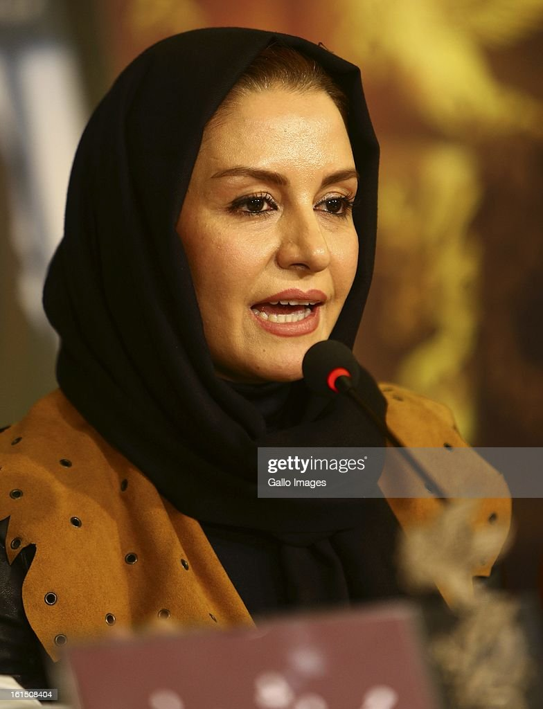 Actress Merila Zaree at Day 10 of the 31th International Fajr Film Festival on February 9, 2013 in Tehran, Iran. Organized by the Ministry of Culture and Islamic Guidance, the Film Festival is the most important film event in the country.