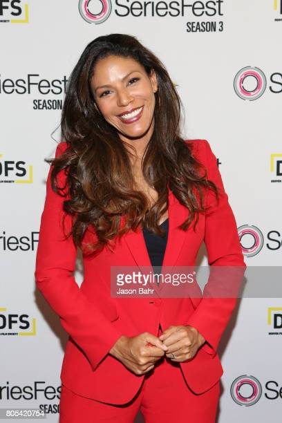 Actress Merle Dandridge arrives to the Women In Entertainment panel discussion for SeriesFest Season 3 at Sie FilmCenter on July 1 2017 in Denver...