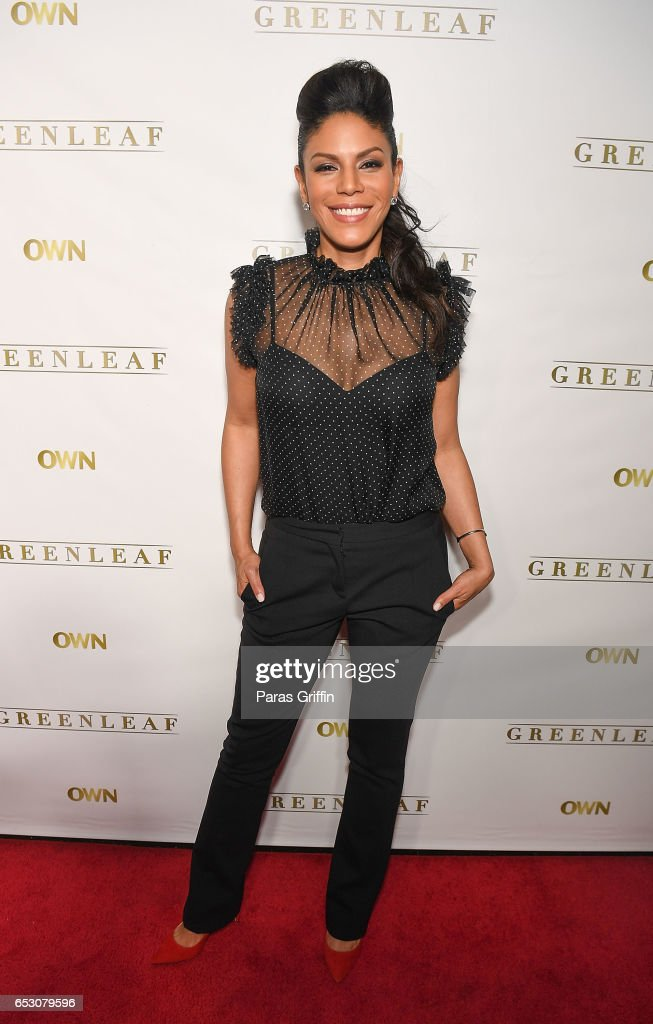 Actress Merle Dandridge attends 'Greenleaf' Season 2 Premiere Party at W Atlanta Midtown on March 13, 2017 in Atlanta, Georgia.
