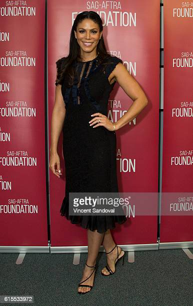 Actress Merle Dandridge attends SAGAFTRA Foundation's Conversations with Greenleaf at SAG Foundation Actors Center on October 17 2016 in Los Angeles...