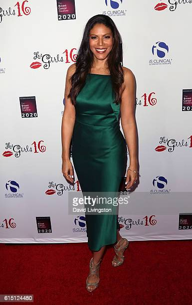 Actress Merle Dandridge attends the National Breast Cancer Coalition's 16th Annual Les Girls Cabaret at Avalon Hollywood on October 16 2016 in Los...