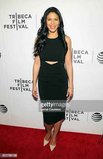 Actress Merle Dandridge attends the Tribeca Tune In Greenleaf Screening at John Zuccotti Theater at BMCC Tribeca Performing Arts Center on April 20...