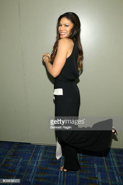 Actress Merle Dandridge pose for a picture during the 2017 Essence Festival Day 3 on July 2 2017 in New Orleans Louisiana