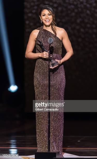 Actress Merle Dandridge speaks on stage during the 2018 Black Girls Rock at New Jersey Performing Arts Center on August 26 2018 in Newark New Jersey