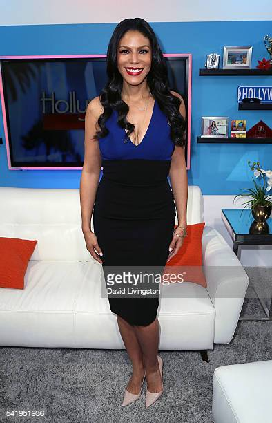 Actress Merle Dandridge visits Hollywood Today Live at the W Hollywood on June 21 2016 in Hollywood California
