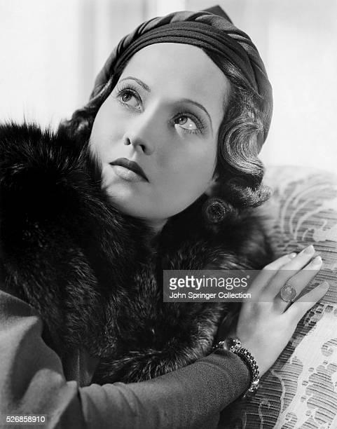 Actress Merle Oberon