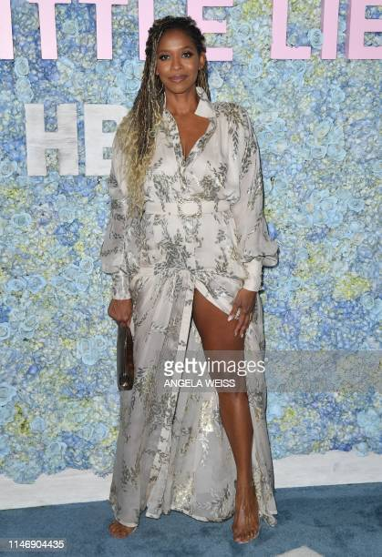 US actress Merrin Dungey attends HBO's Big Little Lies Season 2 premiere at Jazz at Lincoln Center on May 29 2019 in New York City