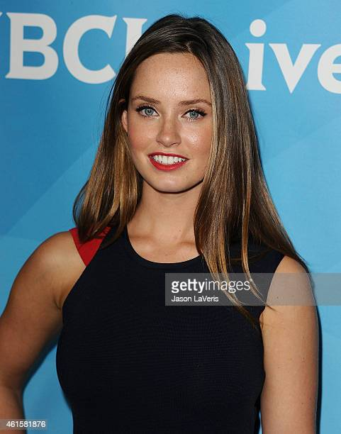 Actress Merritt Patterson attends the NBCUniversal 2015 press tour at The Langham Huntington Hotel and Spa on January 15 2015 in Pasadena California