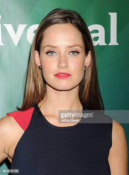 Actress Merritt Patterson attends the NBCUniversal 2015 Press Tour at the Langham Huntington Hotel on January 15 2015 in Pasadena California