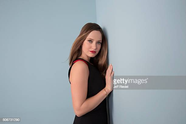 Actress Merritt Patterson is photographed for TV Guide Magazine on January 15 2015 in Pasadena California