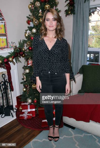 Actress Merritt Patterson visits Hallmark's 'Home Family' at Universal Studios Hollywood on December 6 2017 in Universal City California