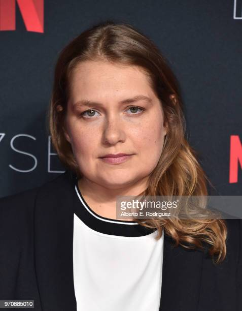 Actress Merritt Wever attends #NETFLIXFYSEE For Your Consideration Event For 'Godless' at Netflix FYSEE At Raleigh Studios on June 9 2018 in Los...