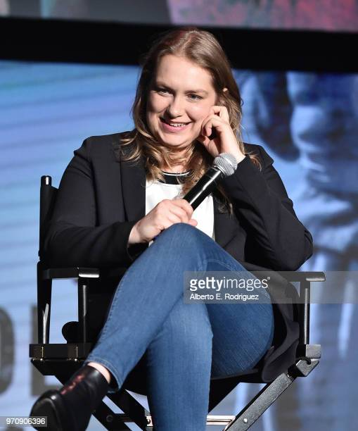 Actress Merritt Wever attends #NETFLIXFYSEE For Your Consideration Event For Godless at Netflix FYSEE At Raleigh Studios on June 9 2018 in Los...