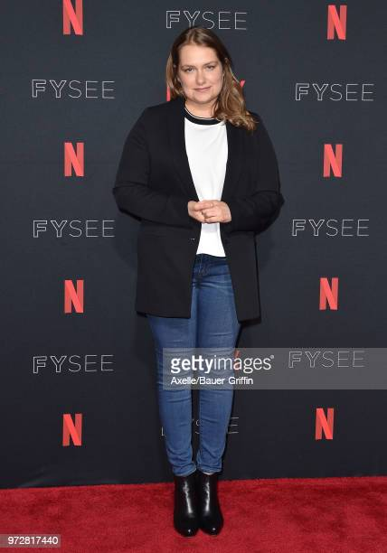 Actress Merritt Wever attends #NETFLIXFYSEE For Your Consideration Event For 'Godless' at Netflix FYSEE At Raleigh Studios on June 9, 2018 in Los...