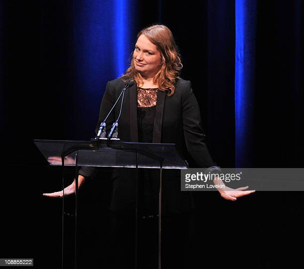 Actress Merritt Wever attends the 63rd annual Writers Guild Awards at the AXA Equitable Center on February 5 2011 in New York United States