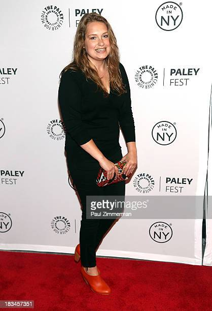 Actress Merritt Wever attends the Nurse Jackie panel during 2013 PaleyFest Made In New York at The Paley Center for Media on October 6 2013 in New...