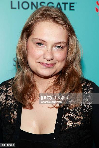 Actress Merritt Wever attends the world premiere of Showtime's 'Nurse Jackie' at the Directors Guild Theatre on June 2 2009 in New York City