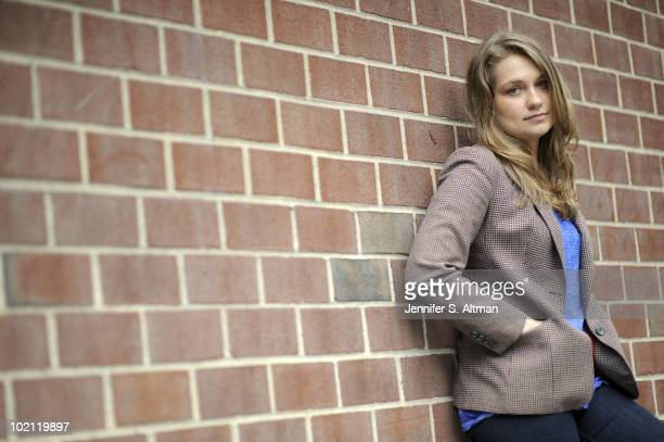 Actress Merritt Wever poses at a portrait session for the Los Angeles Times in New York NY on June 9 2010