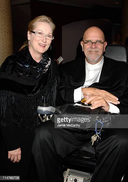 Actress Meryl Streep and artist Chuck Close attend the 18th Annual 'A Magical Evening Gala' hosted by the Christopher & Dana Reeve Foundation at the...