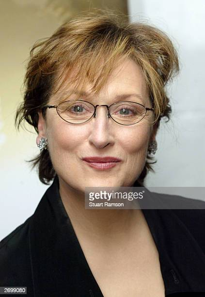Actress Meryl Streep arrives at the premiere of her new film Angels in America November 4 2003 in New York City