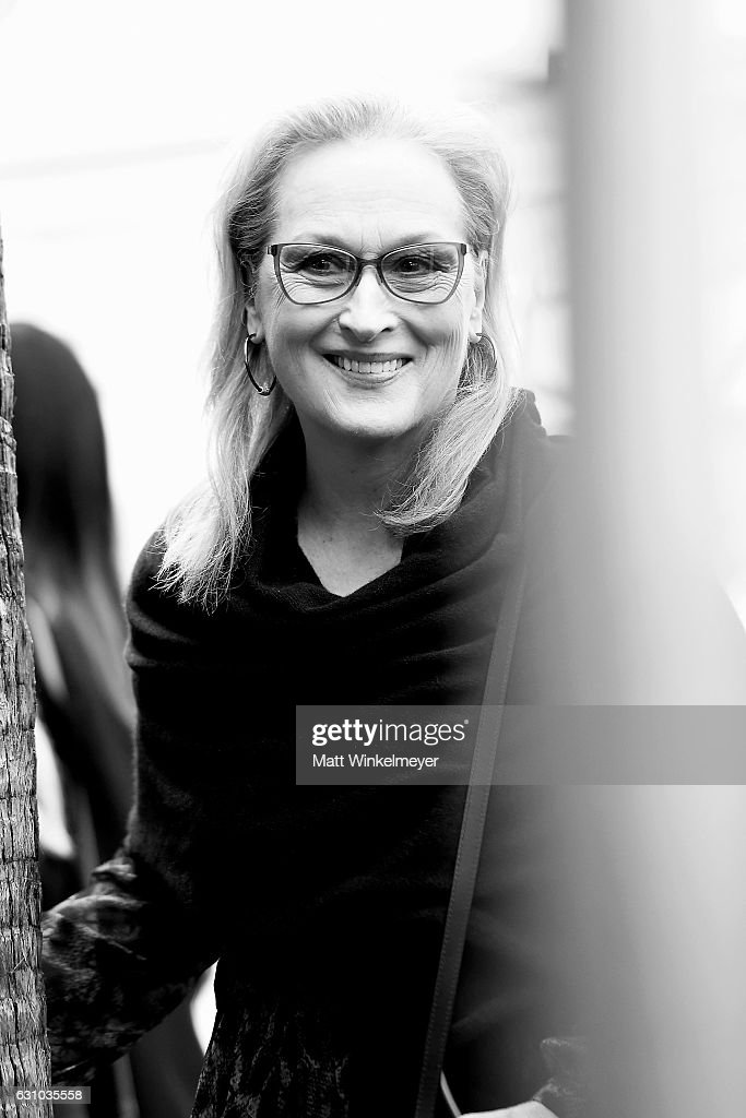 Actress Meryl Streep attends a ceremony honoing Viola Davis with a star on the Hollywood Walk of Fame on January 5, 2017 in Hollywood, California.