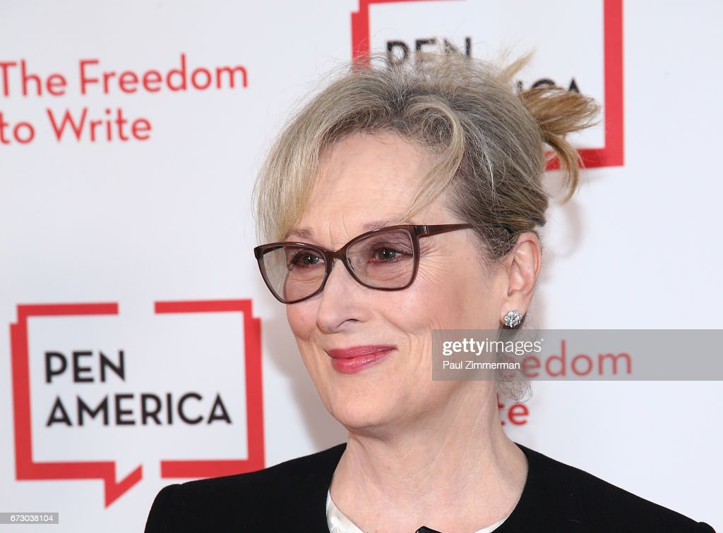 Actress Meryl Streep attends PEN America's 2017 Literary Gala Red Carpet at American Museum of Natural History on April 25, 2017 in New York City.