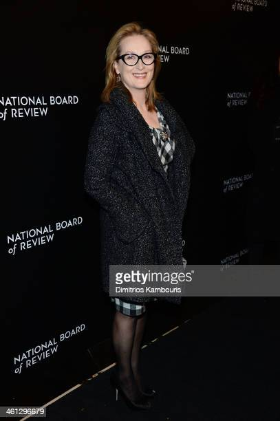 Actress Meryl Streep attends the 2014 National Board Of Review Awards Gala at Cipriani 42nd Street on January 7 2014 in New York City