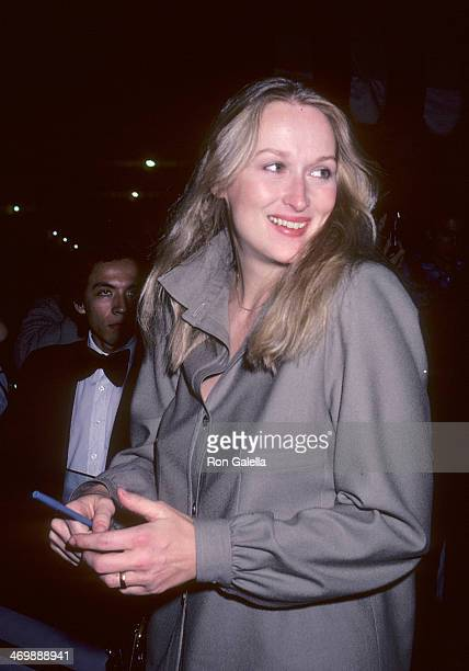 Actress Meryl Streep attends the 52nd Annual Academy Awards PreParty on April 13 1980 at Chasen's Restaurant in Beverly Hills California