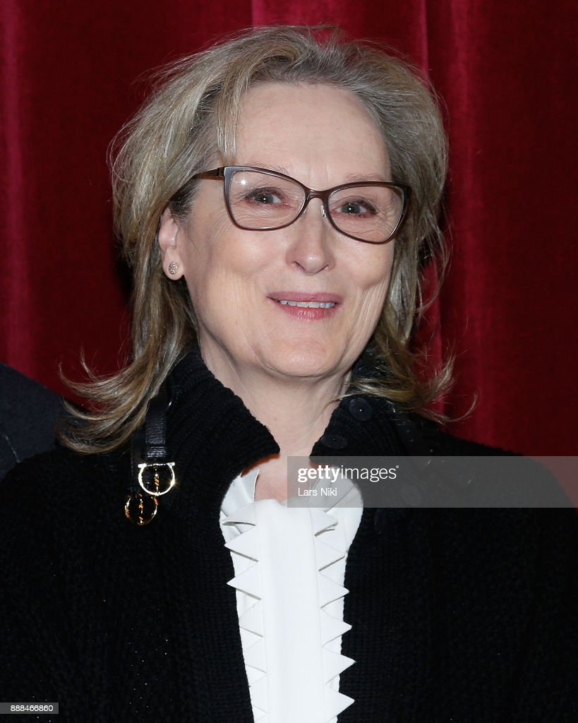 Actress Meryl Streep attends The Academy of Motion Picture Arts & Sciences Official Academy Screening of The Post at the MOMA Celeste Bartos Theater on December 7, 2017 in New York City.