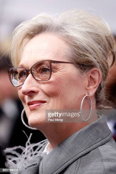 """Actress Meryl Streep attends """"The Post"""" Washington, DC Premiere at The Newseum on December 14, 2017 in Washington, DC."""