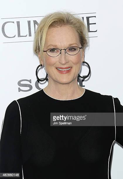 Actress Meryl Streep attends the Ricki And The Flash New York premiere at AMC Lincoln Square Theater on August 3 2015 in New York City