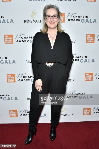 Actress Meryl Streep backstage during the 44th Chaplin Award Gala at David H Koch Theater at Lincoln Center on May 8 2017 in New York City