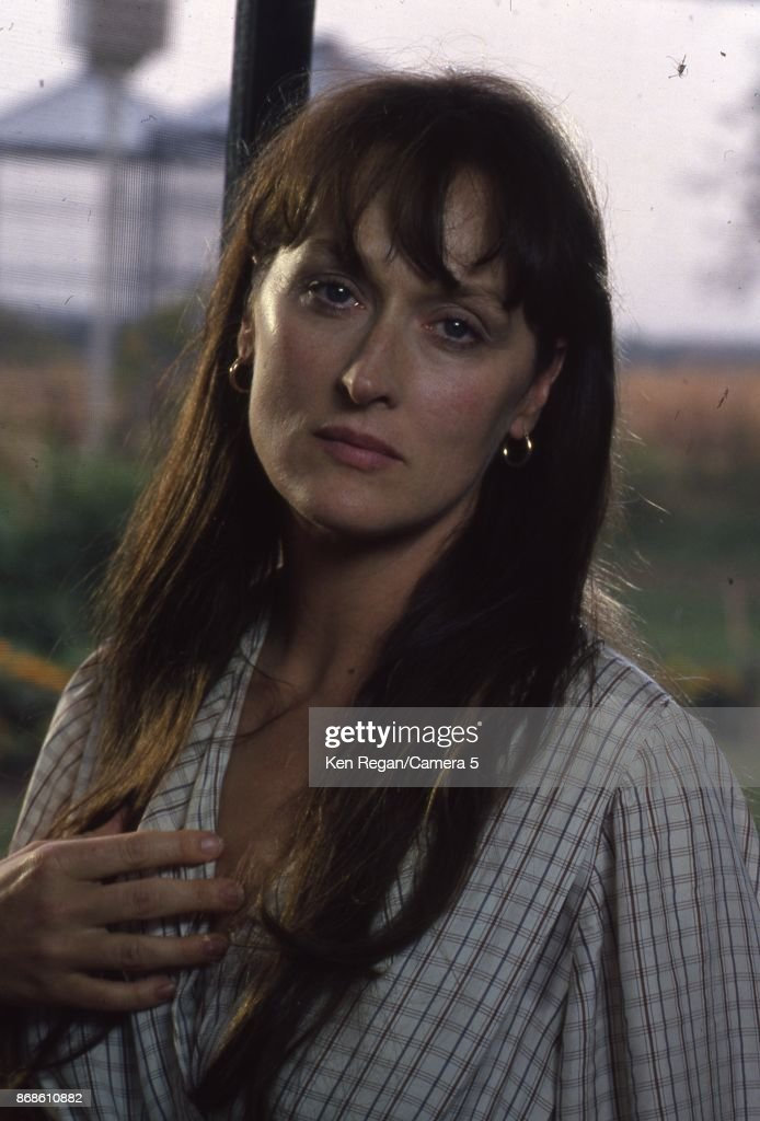 Actress Meryl Streep for The Bridges of Madison County in 1994 in Winterset, Iowa.
